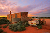 Outback Ruins (-yury-) Tags: sunset house abandoned car landscape silverton ruin australia nsw outback deserted