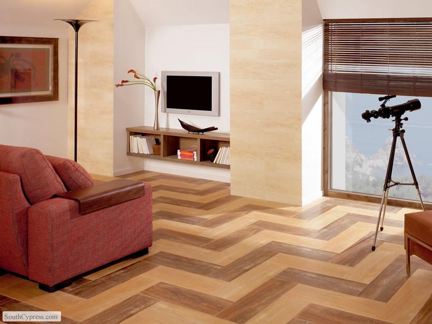 Halcon Forest Caoba & Teka Wood Tile