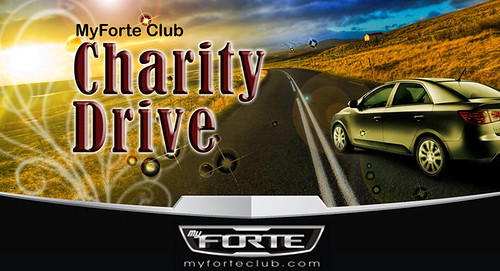 MyForteClub Charity Drive