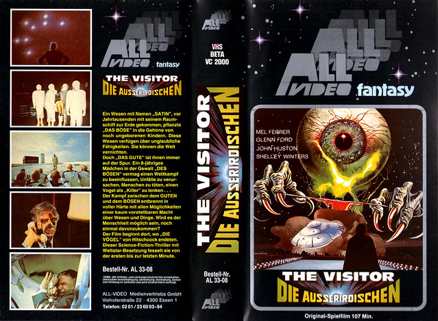 The Visitor (VHS Box Art)