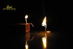 judgement (.ღ♫°Qanas°♫ღ.) Tags: reflections dark fire photography idea glasses nikon king sad darkness good united bad emirates arab sit feb matches ruler rak judgment qanas rashed 2011 d3000 alzaabi