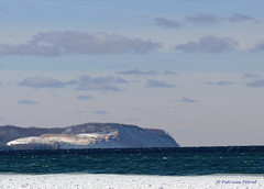 Pyramid Point from Vans Beach in Leland