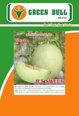 giống dưa lê ngọt Jet Sweet Green Bull Seed Thái Lan chất lượng cao JetSweet hat giong dua le melon green bull seed 88 k