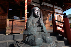 Pray for Japan - Shoubou Temple  (ogawa san) Tags: japan temple shrine buddha  yokohama  staue