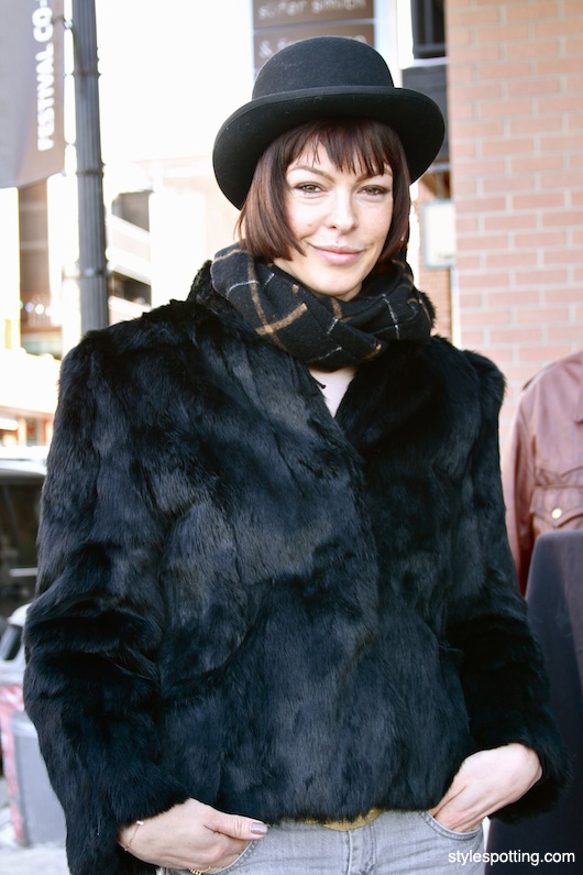 Actress Pollyanna McIntosh (Sundance)