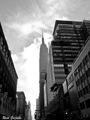 Empire State (Raúl Grijalbo) Tags: nyc bw newyork building empirestate nuevayork blackwhitephotos grijalbo
