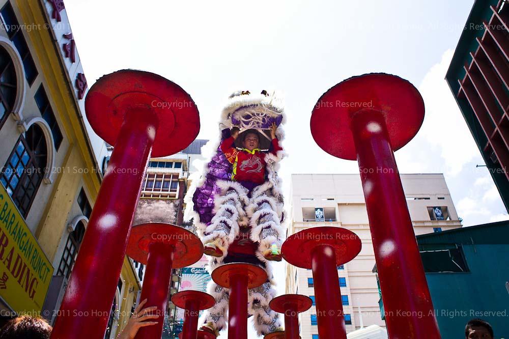 Chap Goh Mei Lion Dance @ KL, Malaysia