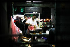 Some Old Chinese Restaurant at Palmerah, Jakarta (JenniferGan) Tags: color canon indonesia restaurant foods asia southeastasia nightshot sigma indoor jakarta culinary 50d 1770mm canon50d asianphotographer