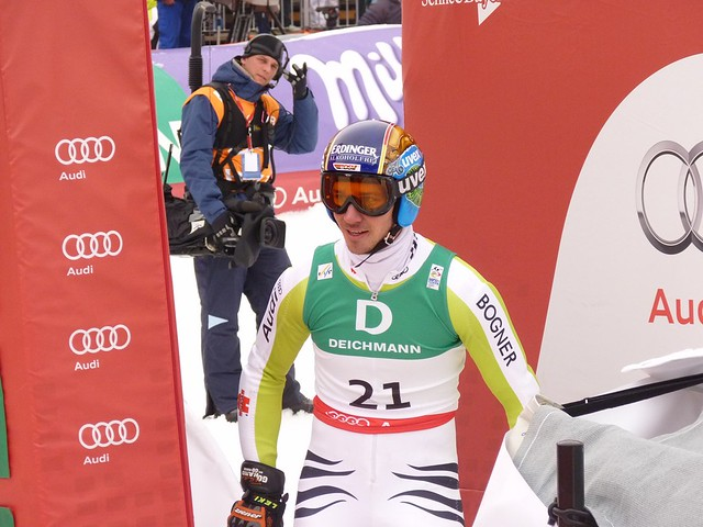 Felix Neureuther beim Riesenslalom