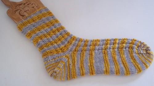 Waffle Socks- Sock one