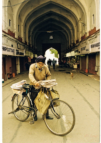 In the Chatta Chowk Bazar / Meena Bazaar of Red Fort