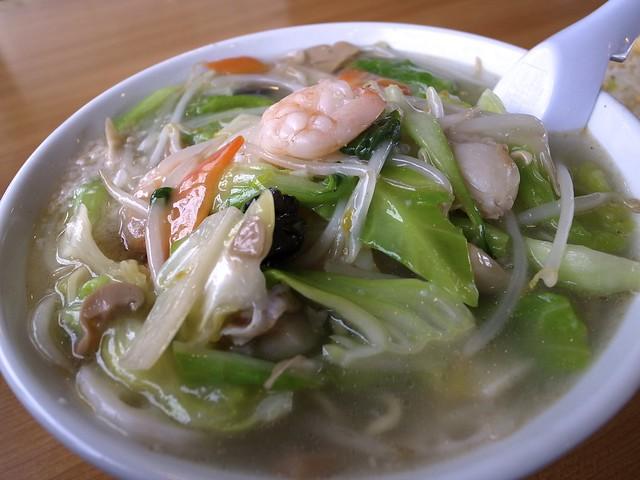 海鮮ラーメン Sea food Ramen