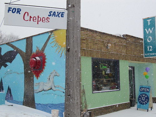 For Crepes Sake - Two 12 Pottery