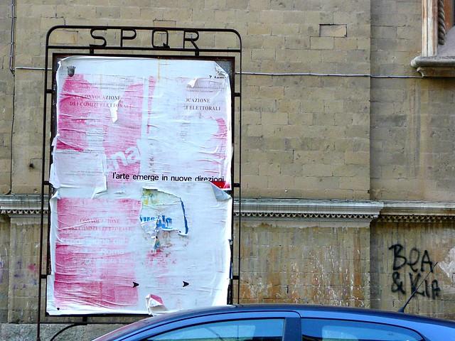 l'arte emerge in nuove direzioni - SPQR