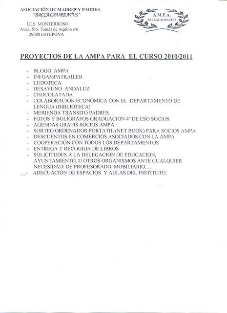 PROYECTO AMPA