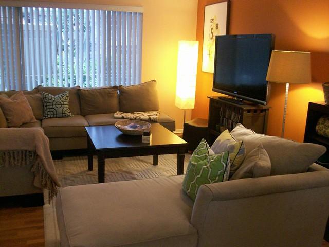 Apt Tour: Living Room