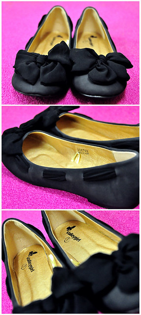 ValleyGirl Black Closed Toe Flats