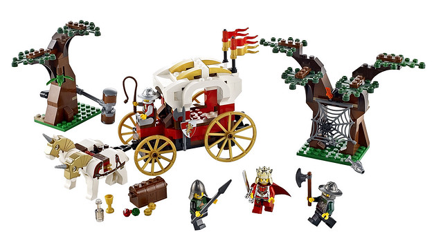 LEGO Kingdoms 7188 – King's Carriage Ambush