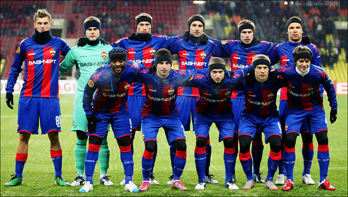 CSKA Moscow team