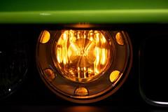RT Lamp (Joshishi) Tags: auto show chicago green cars illinois dodge rt challenger 2011 105mmf28dmicro