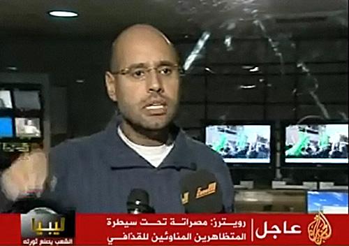 "Saif Al Islam: ""Todo está tranquilo"""