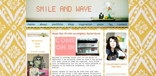 Blogs I love - Smile and Wave