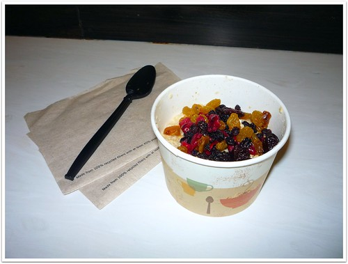 Day 22: Oatmeal with dried fruit