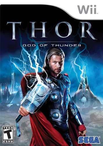 Thor: God of Thunder Wii Pack Front