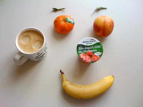 Andechser Natur Joghurt, Nektarine, Clementine & Banane