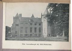 heemkerk slot asemburg (janwillemsen) Tags: nederland heemskerk kalenderplaatje