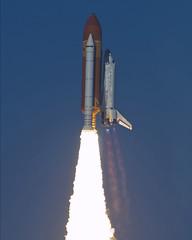 [フリー画像] 乗り物, 航空機, 宇宙船, スペースシャトル, 201102282300
