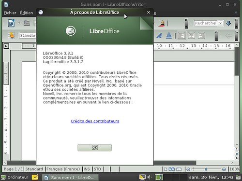 LibreOffice 3.3.1 OpenSuSE 11.4