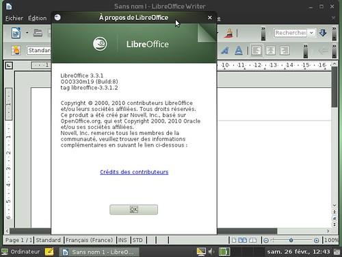 LibreOffice 3.3.1 OpenSuSE 11.4