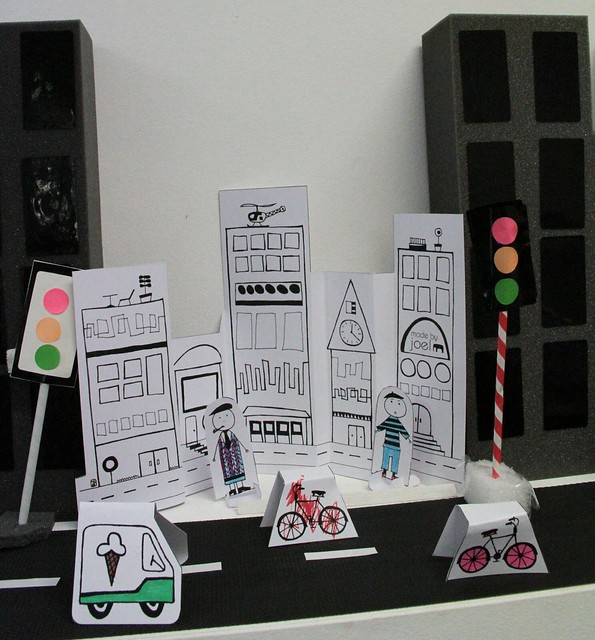 art month 2011 - itty bitty city