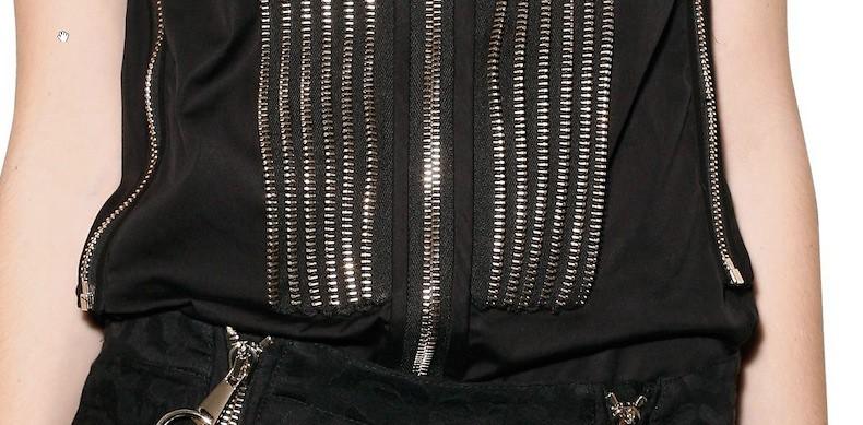 Givenchy SS2011 zipper shirt 2