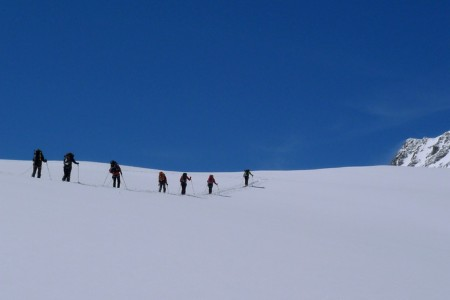 Tête Blanche (3 710 m): pod dohledem Matterhornu