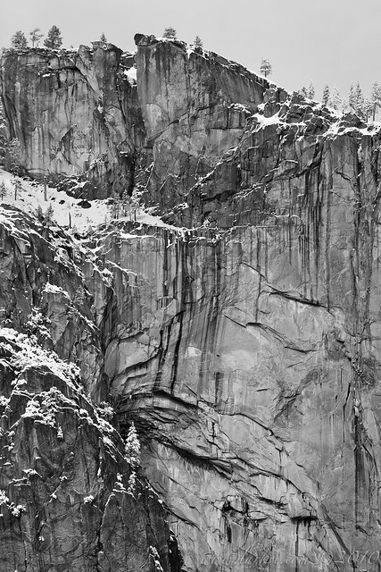 Cliff-face, Yosemite Valley, Yosemite National Park, California, 2010