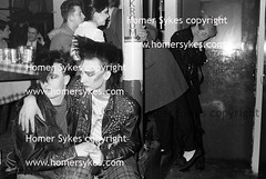 BOY GEORGE BLITZ CLUB LONDON 1980'S NEW ROMANTICS (Homer Sykes) Tags: uk boy england london english fashion kids youth club garden george britain teenagers teens clubbing tshirt nightclub covent 80s coventgarden british rogers blitzkids blitz 1980 1980s wilf tomoffinland boygeorge fashionable subculture gbr youngadults newromantics blitzclub archivestock wilfrogers westwoodandmclaren