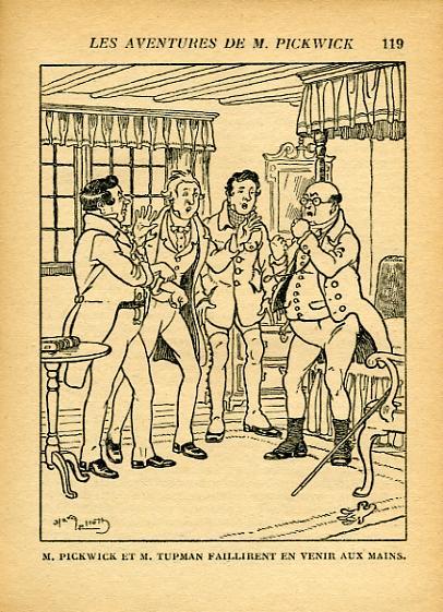 Les aventures de Monsieur Pickwick, by Charles DICKENS -image