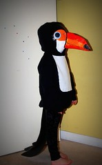 Two Can Toucan (☼ EkkyP ☼) Tags: sunshine costume toucan mask handmade tail 111 13 worldbookday twocan