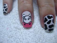 unhas 011 (Taís Volkweis) Tags: paris arte nails cereja unhas vaca risque unha esmalte