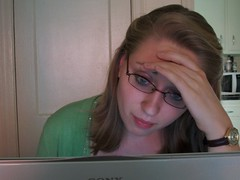 Frustrated, Sommers gives up (brittanywienke) Tags: up writing relief giving creativewriting