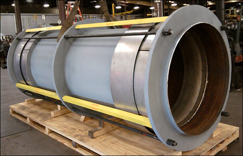 "48"" Tied Universal Expansion Joint with Two-ply Bellows for an Oil Refinery in Louisiana"