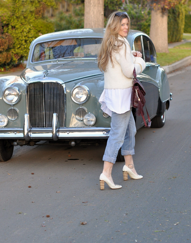 black and white photo, sunglasses, vintage, retro, old cars, continental, DSC_0054