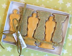 Oscar Cookies for Oscar Winners!