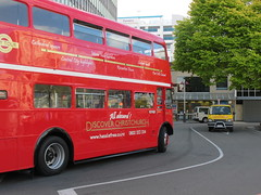 Christchurch tour bus Routemaster RM1670 (Camera Travels - Please read my Profile. Happy to ) Tags: new christchurch bus london tour transport zealand owned nz routemaster february rm 2011 rm1670 previouly