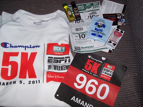 Champion 5K Goody Bag