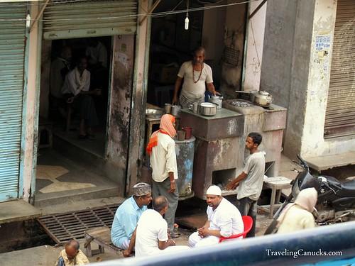 Chai House in Varanasi, India