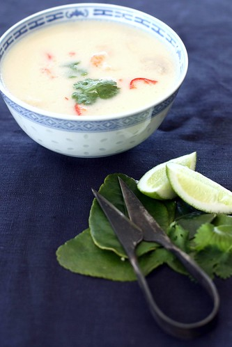 Thai prawn soup