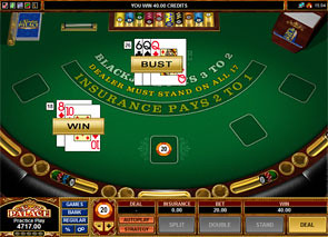 European Blackjack Microgaming Rules